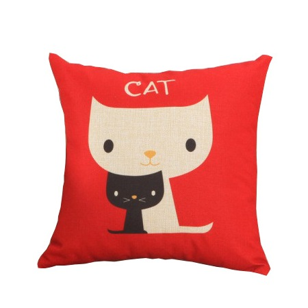 """Cat"" cushion cover"