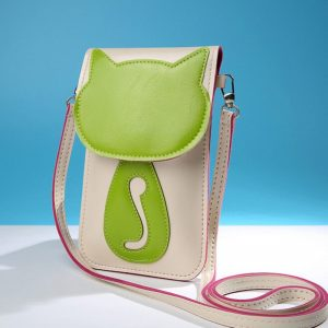 small kitty handbag